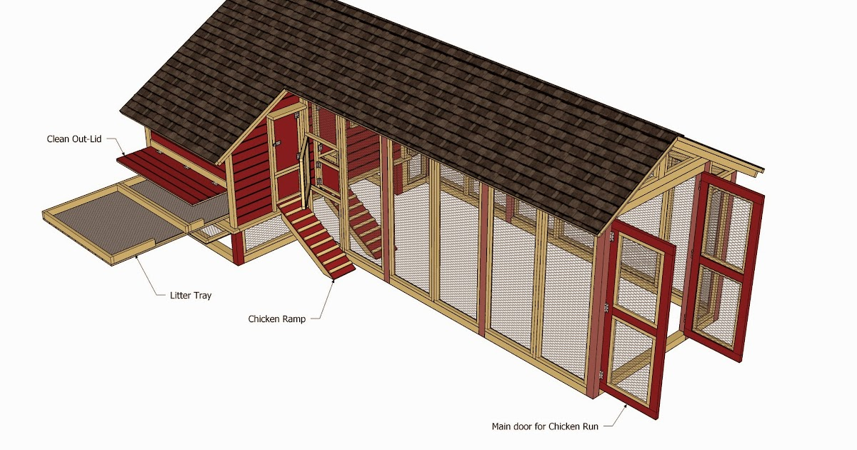 Building Plans For Chicken Runs Jum Chicken Coop