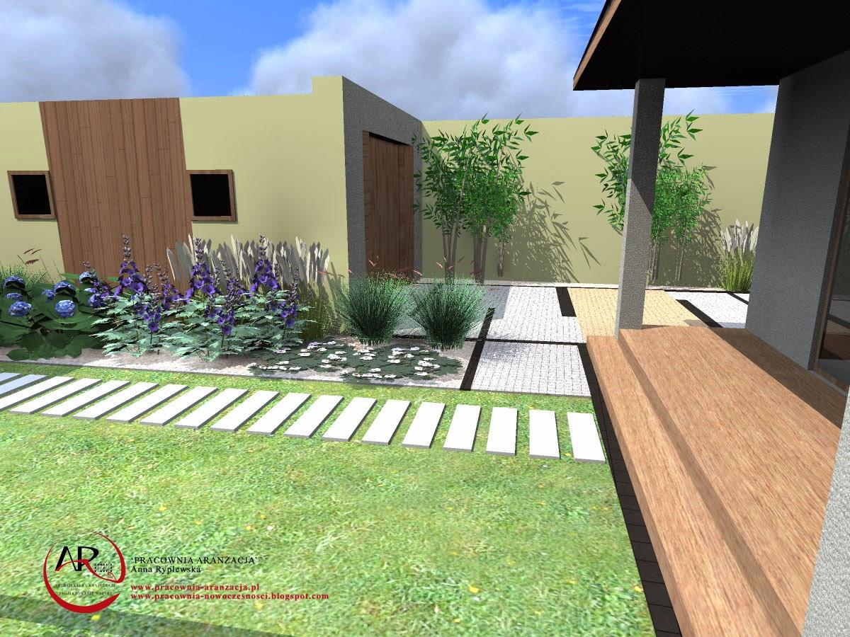 ogrody nowoczesne