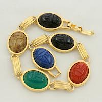 Scarab Bracelet Vintage