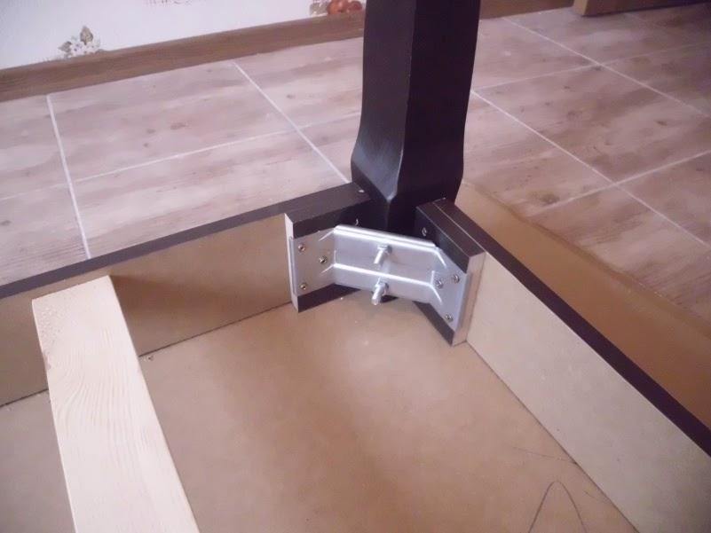 Как сделать ножки у кухонного стола 682