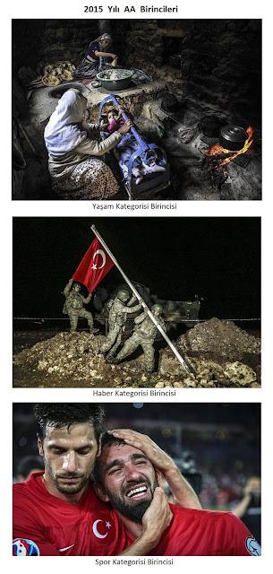 Anadolu Ajansı 2015 yılının birinci fotoğrafları