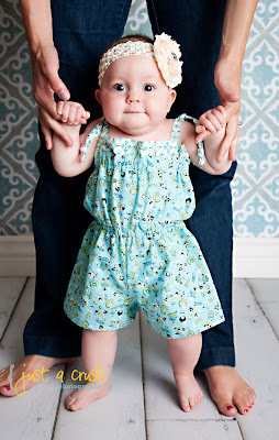 The Bailey Romper PDF Sewing Pattern