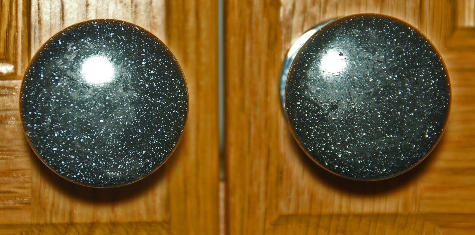Antique Glass CabiKnobs and Pulls