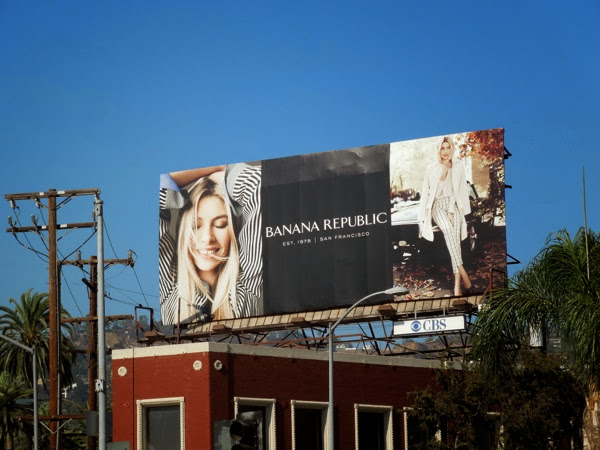 Banana Republic Fall 2013 billboard