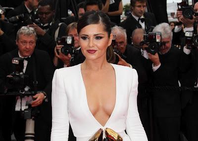 Cheryl Cole Cute Dress Photoshoot