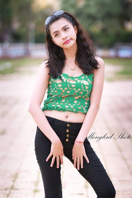 Beauté du jour : Ly Danam avec Mongkul Tel : 012 760 051