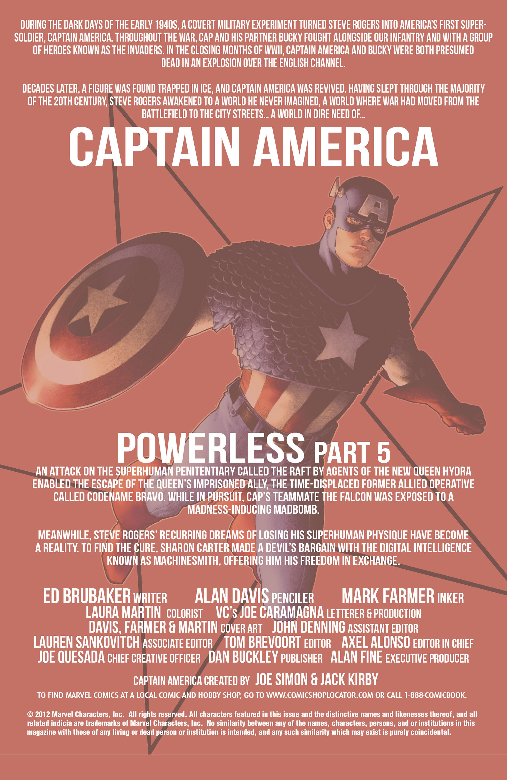 Captain America (2011) Issue #10 #10 - English 2
