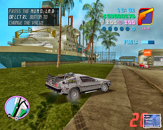 GTA Vice City Back To The Future Hill Valley PC Game