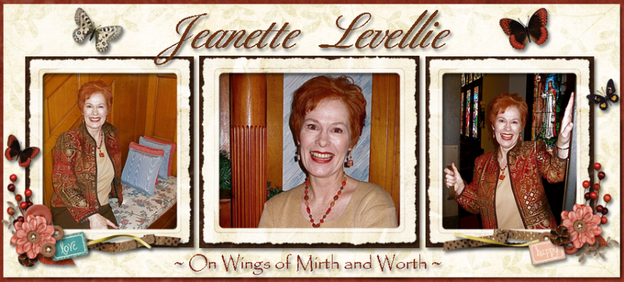 Jeanette Levellie: On Wings of Mirth and Worth