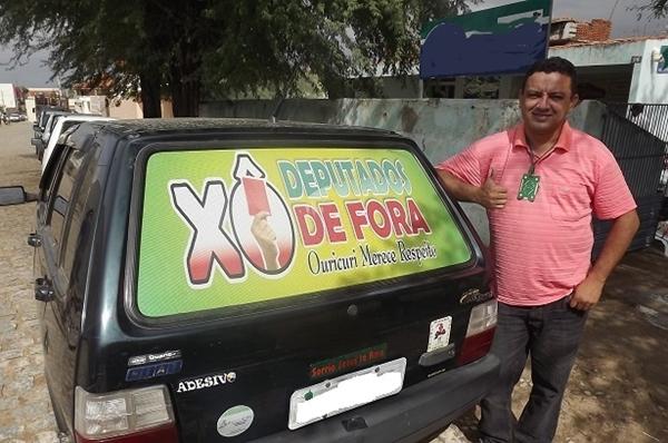 Ouricurienses começam a se mobilizar por candidatura de deputado do município