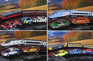 Historia de los trenes y autos del siglo XX