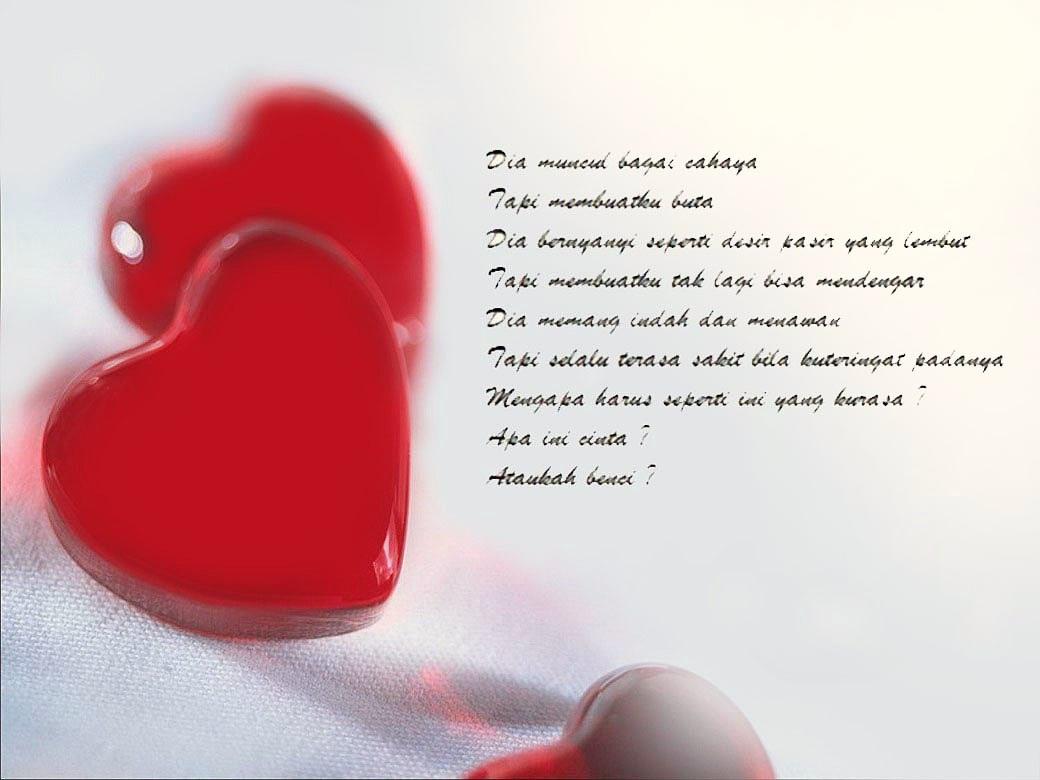 puisi cinta terindah pendek