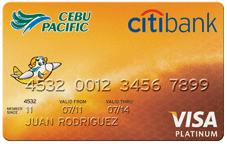 Cebu Pacific credit card