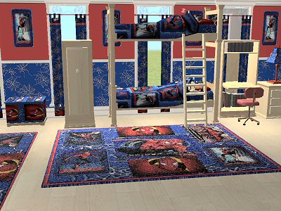 Spider Mans Bedroom : Attractive Spiderman Theme Bedroom Decorate Designs For Kids Boys