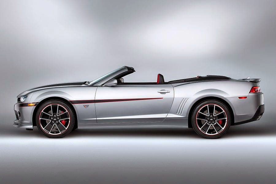 Chevrolet Camaro Convertible Commemorative Edition (2015) Side