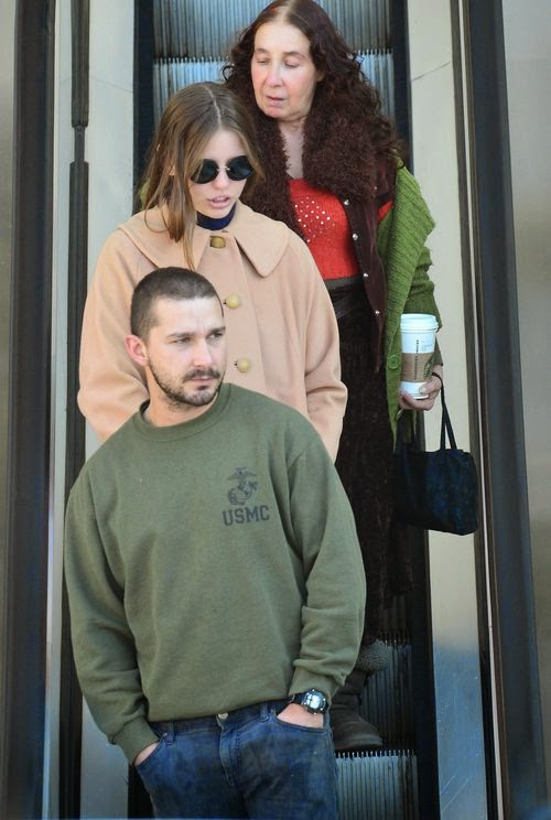 Shia LaBeouf: On shopping tour with two women