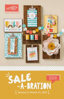 2015 Sale-a-Bration Catalog