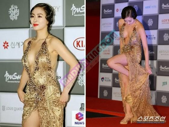 Foto Han So Ah di Busan International Film Festival