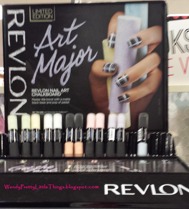Pretty Little Things Spotted Revlon Chalkboard Nail Art