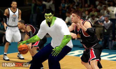 NBA 2K13 Incredible Hulk MyCareer Player