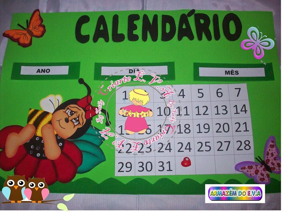 Manualidades escolares para decorar horario y calendario for Calendario manualidades