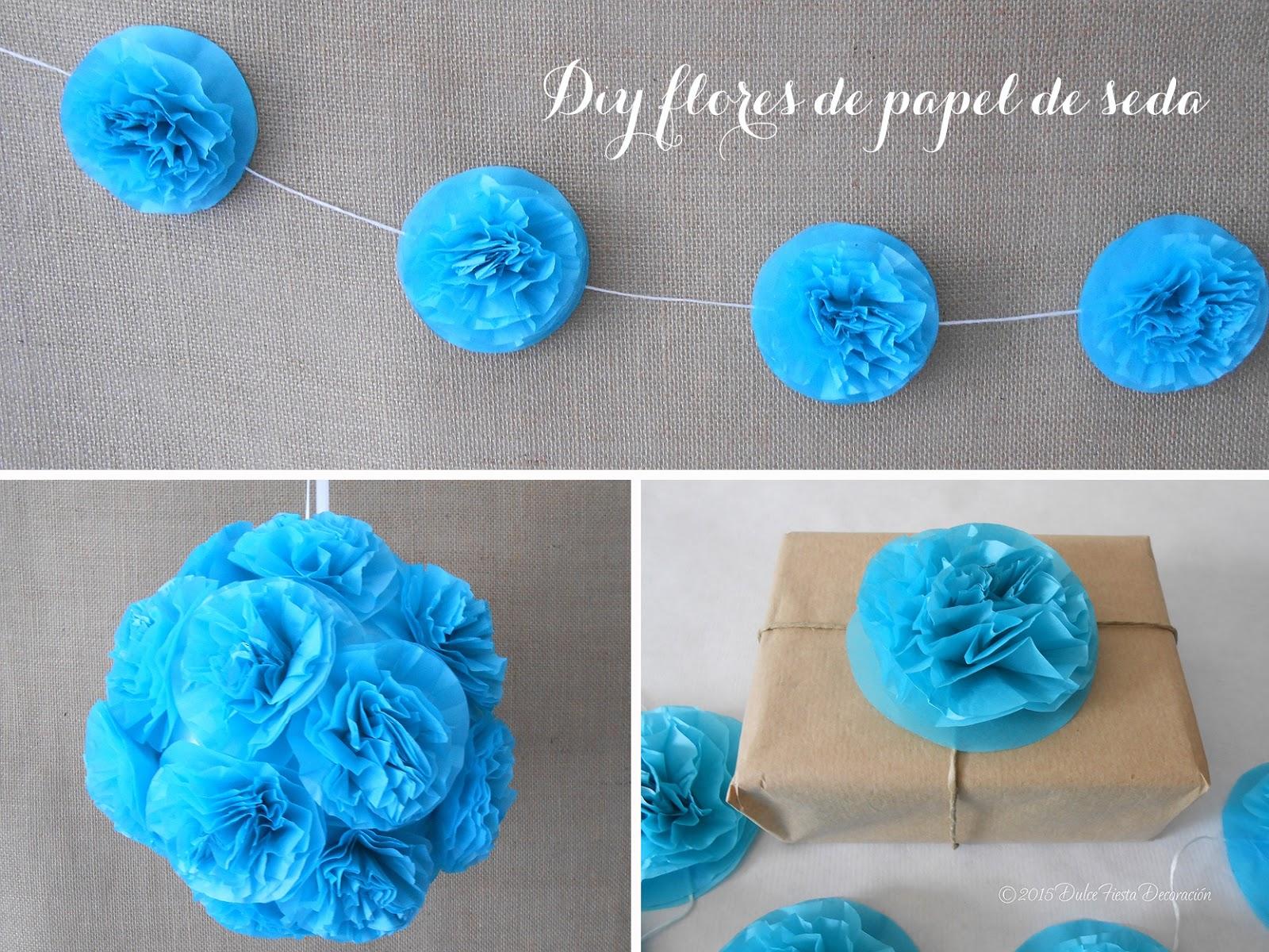 Diseno Y Decoracion Personalizada Para Eventos Diy Flores De Papel - Como-hacer-guirnaldas-de-papel-de-seda