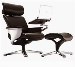 Nuvem Reclining Executive Chair
