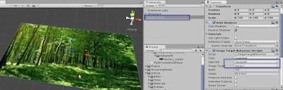 Tentukan dataset pada Image Target