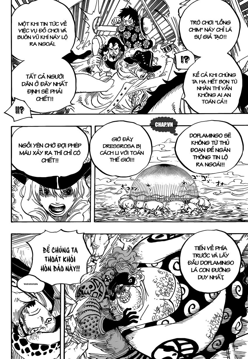 One Piece Chapter 754: Rất vui khi gặp lại cậu 008