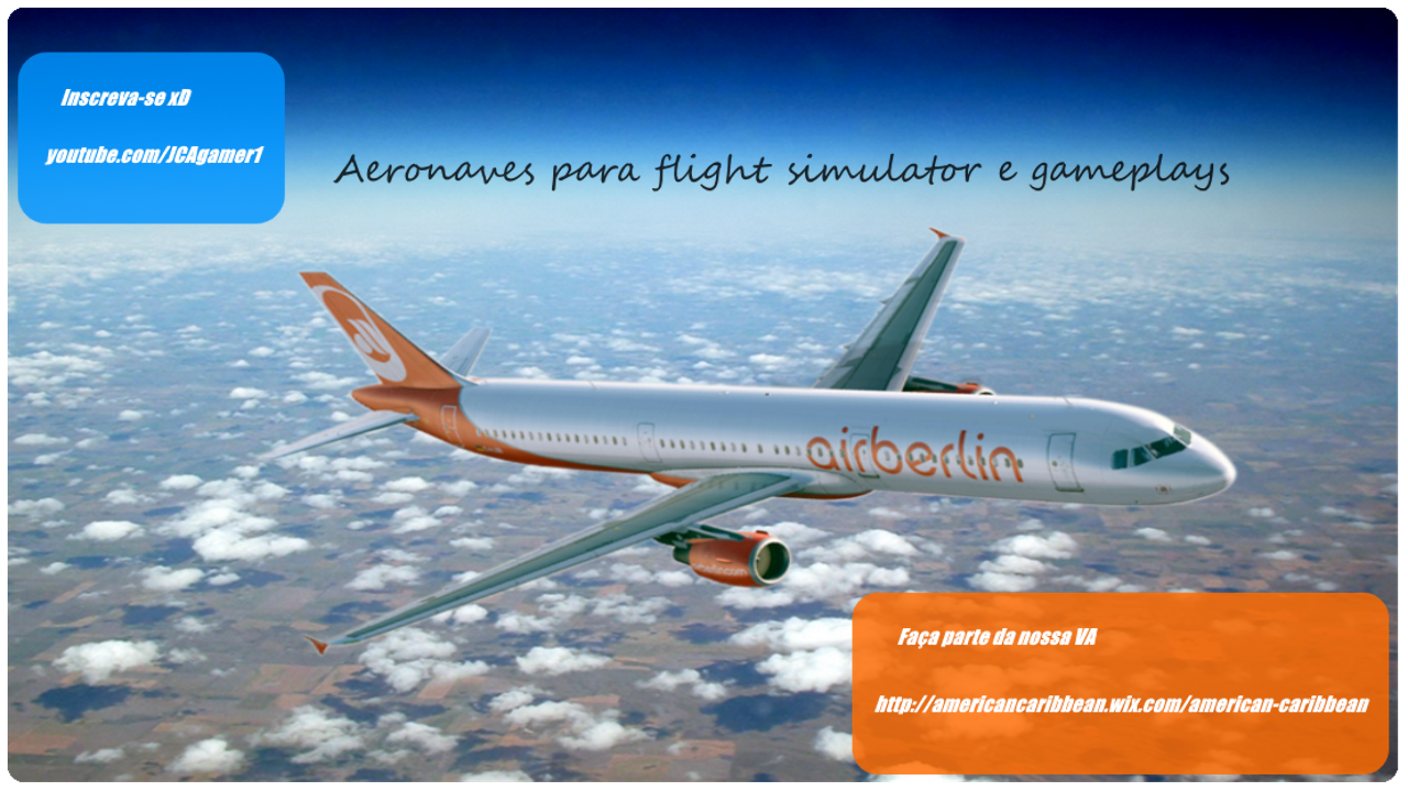 Aeronaves Para Flight Simulator & Gameplays