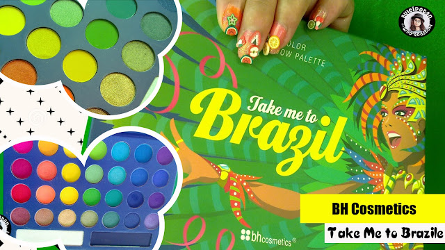 Colorfull Eyeshadow Pallete? Coba BH - Take me to BRAZIL