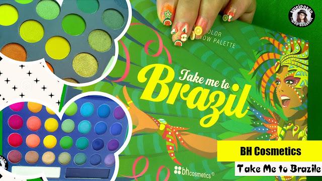 Colorfull Eyeshadow Pallete? Coba BH - Take me to BRAZIL