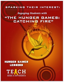 http://teach.com/great-educational-resources/sparking-their-interest-engaging-students-with-the-hunger-games-catching-fire