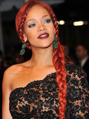 Rihanna Dangling Gemstone Earrings