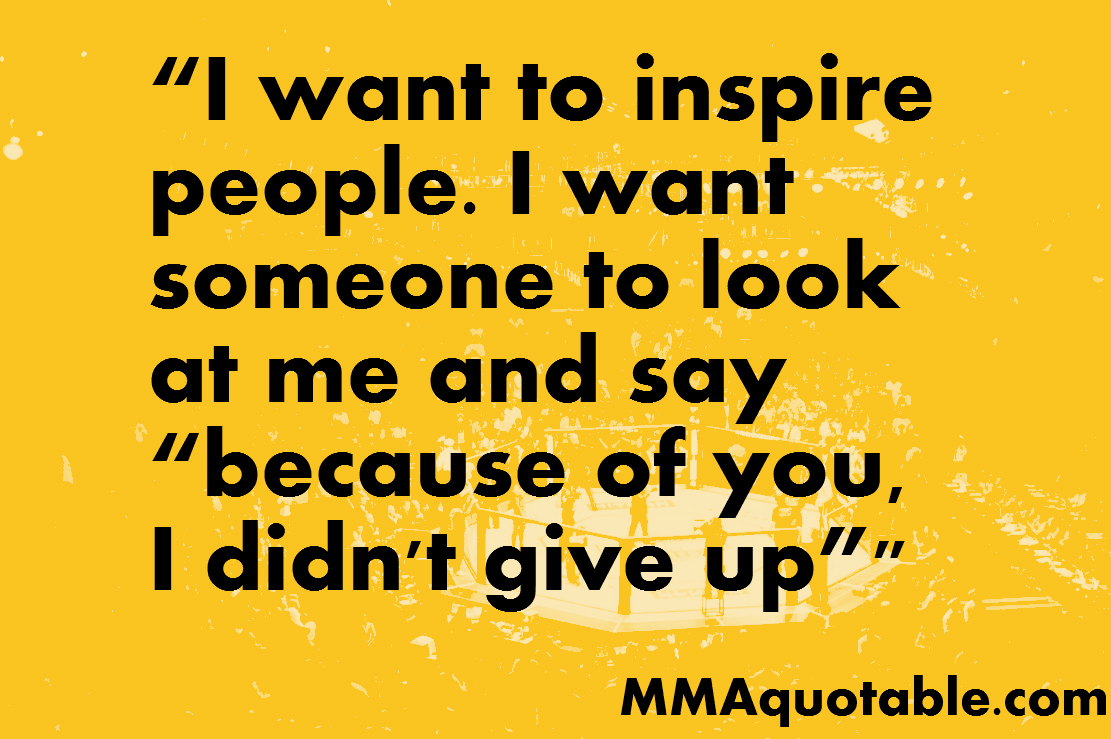 someone who is inspiring
