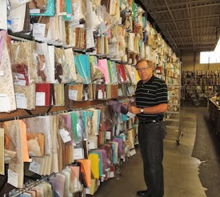fabric library, fabric showroom, fabric images