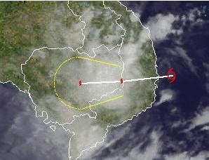 Tropischer Sturm GAEMI erreicht Vietnam, Gaemi, Marce, Vietnam, aktuell, Satellitenbild Satellitenbilder, Taifunsaison 2012, Oktober, 2012,