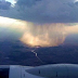 What rain looks like from the sky