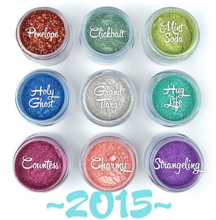 Sugarpill Cosmetics ombres à paupières 2015