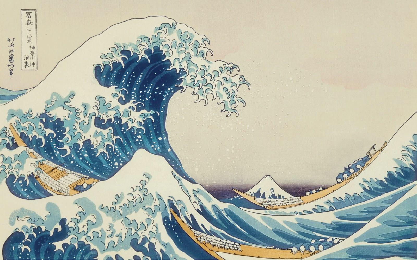 Iraccontidelcassetto Londa Di Hokusai
