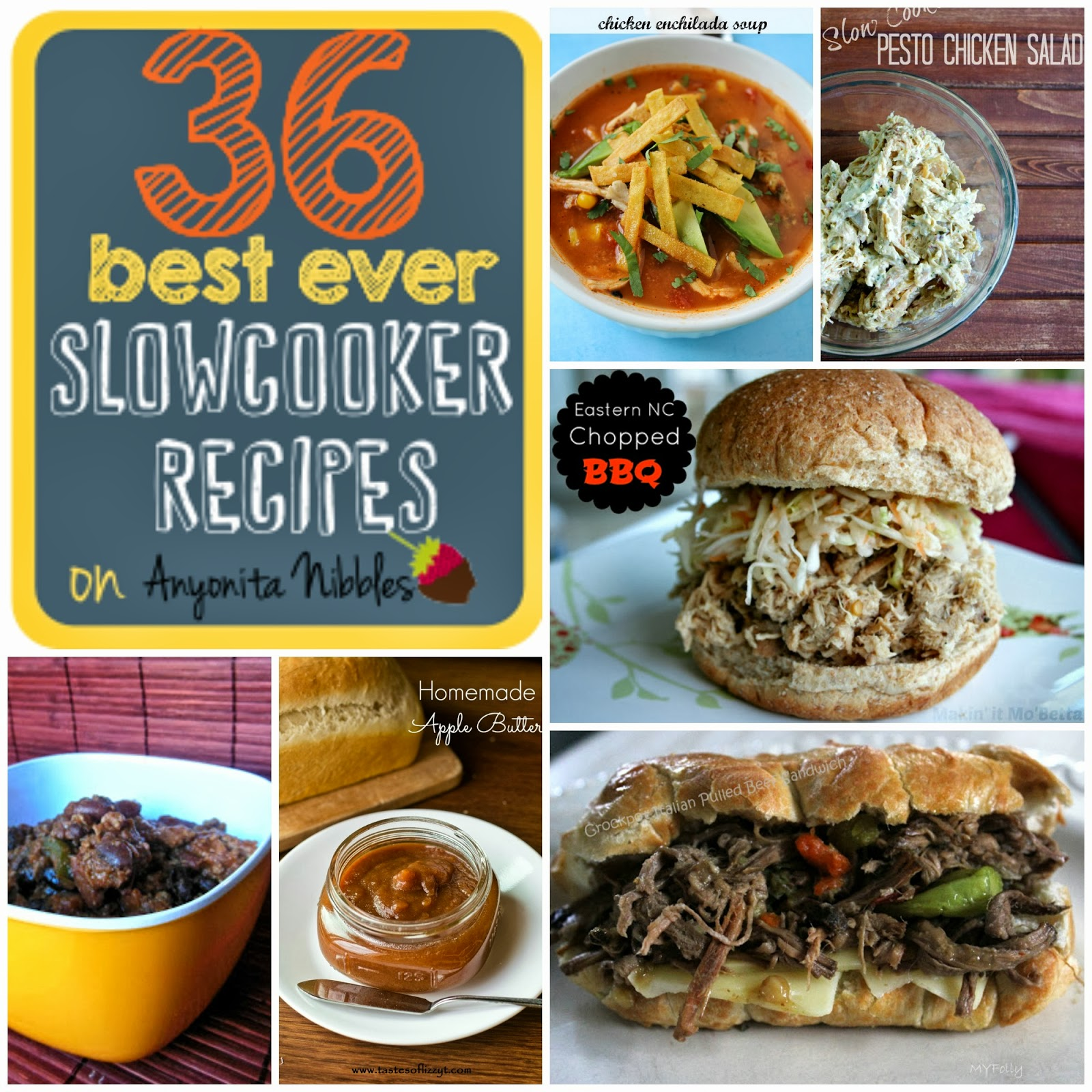 36 Best Ever Slowcooker Recipes Collage