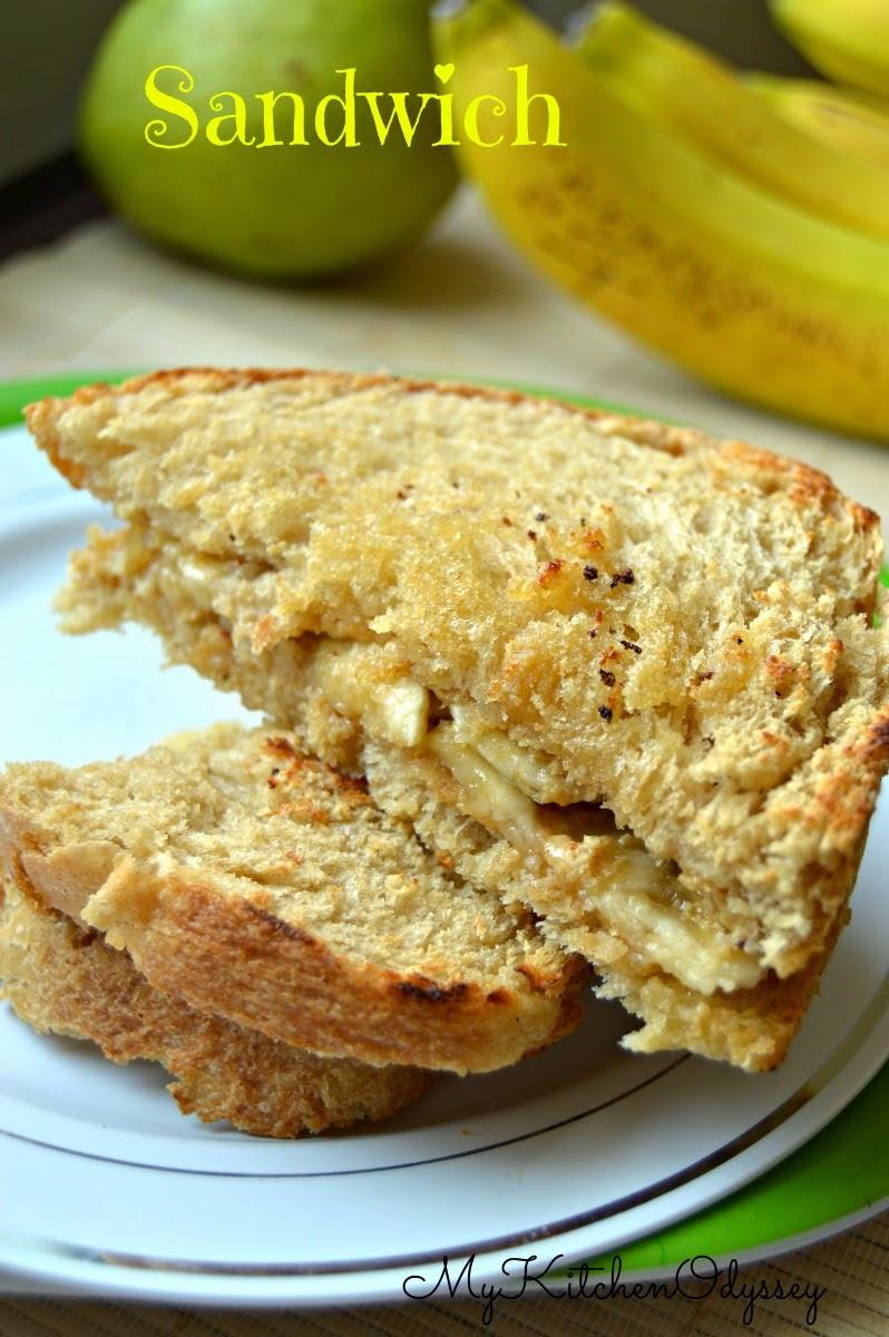 peanut butter banana sandwich2