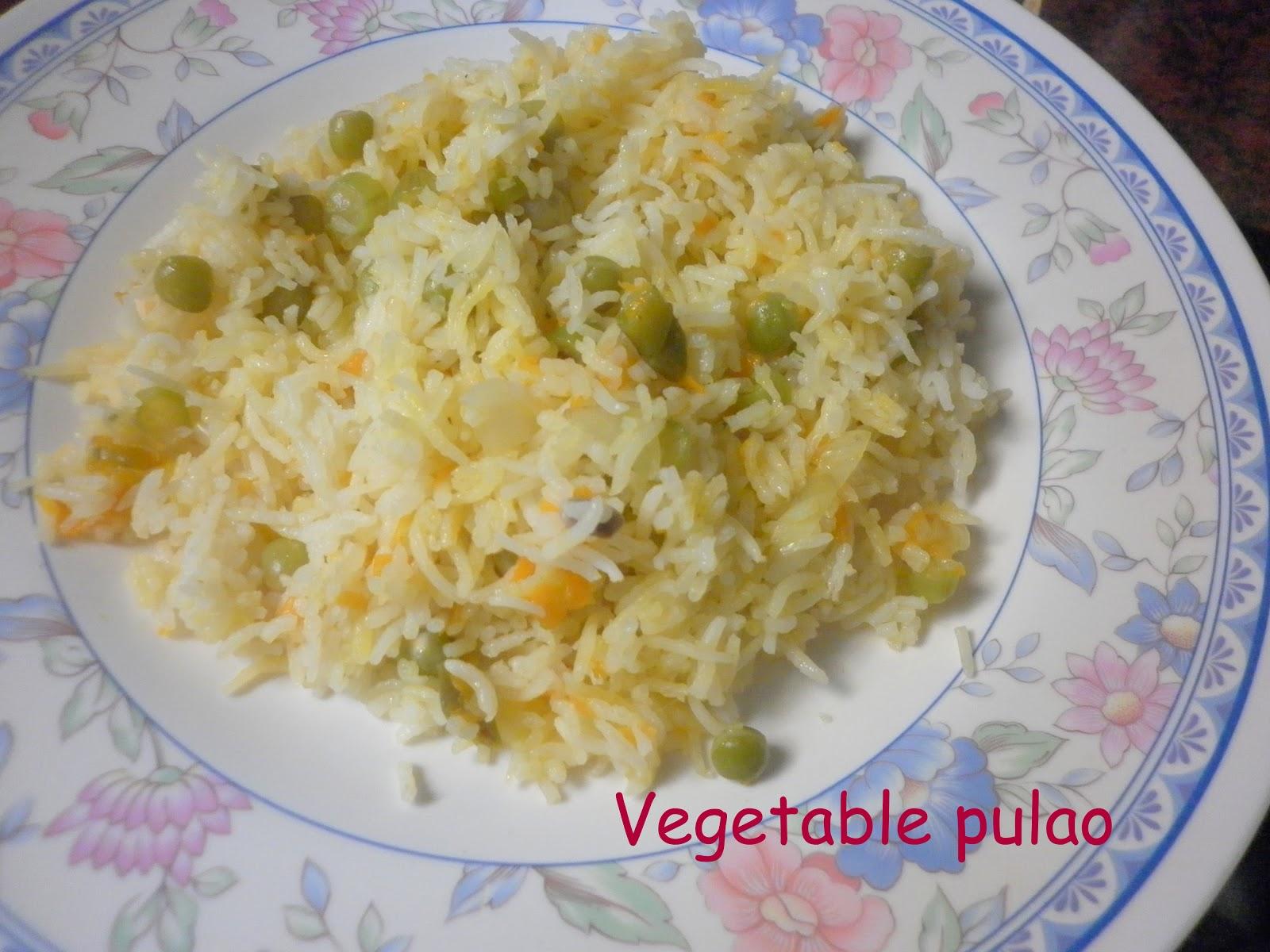 vegatable pulao