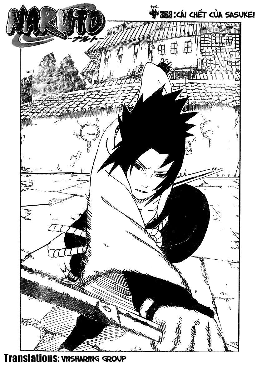 Naruto chap 363 Trang 2 - Mangak.info