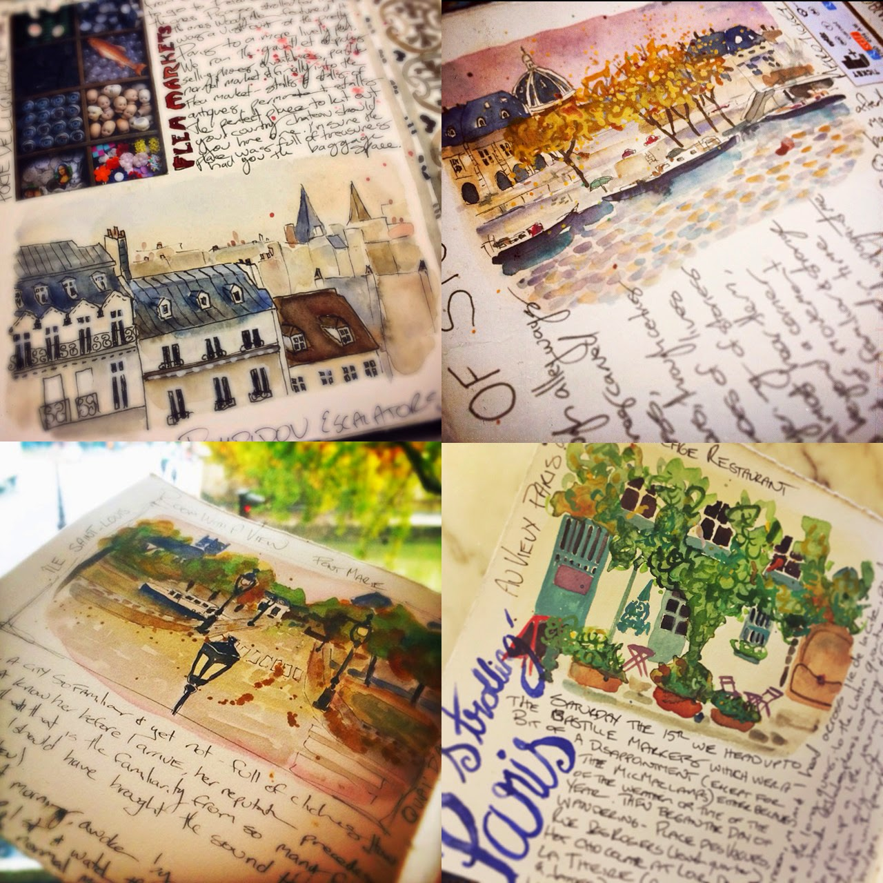 Travel Journal Paris- Galia Alena