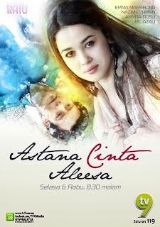 Astana Cinta Aleesa cover drama
