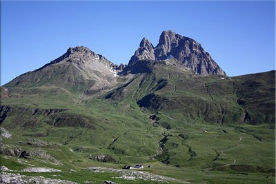 Midi d'Ossau visto desde El Portalet