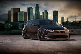 Lexus Black Tuning