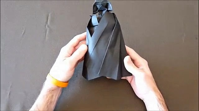 Paper Crafts Origami For Kids Origami Darth Vader