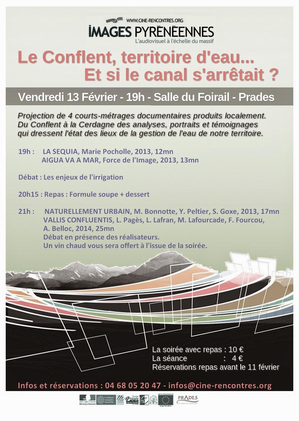 ciné rencontres prades 2013